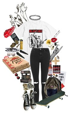 """I Fell In Love With the Girl At The Rock Show"" by causingpanicatthetheater ❤ liked on Polyvore featuring art"