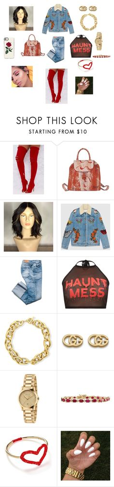 """31st 🎒..."" by jahholland ❤ liked on Polyvore featuring Deglupta, Gucci, BERRICLE, Jordan Askill and Casetify"