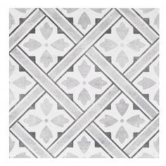 Mr Jones Charcoal Tile 33.1 x 33.1cm