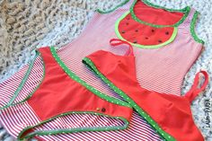 La Lio: WATERMELON or STRAWBERRY UNDERWEAR??