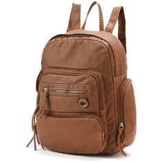Mudd Maddie Backpack (Brown) ( 32) ❤ liked on Polyvore featuring bags,.  Rucksack ... 2c6c9427d5