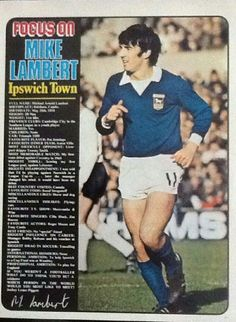 Football Odds, Retro Football, Football Players, British Football, English Football League, Ipswich Town Fc, Laws Of The Game, Association Football, Most Popular Sports
