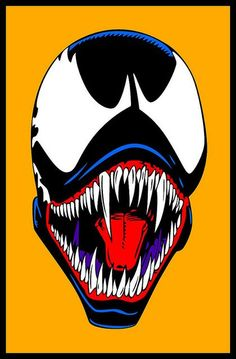 Venom this would look sick as a poster or on a T-shirt