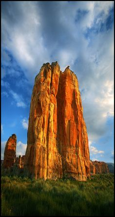 Crags and cracks, splits and holes, created over ions by weather and other forces, now signify the beauty, power and grace of age.  The Acoma Pueblo, New Mexico.