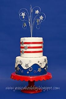 Pretty, especially for my parents' whose wedding anniversary is July 4  #themodernjewishwedding.com
