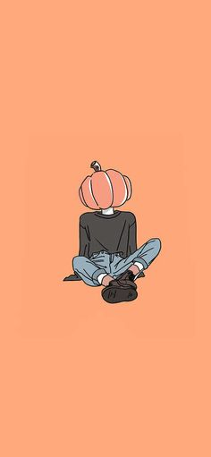 Boy of Allhallows pumpkin head is dressed up insert a picture Wallpapers for iPhone X, iPhone XS and iPhone XS Max - Free Wallpaper   Download Free Wallpapers