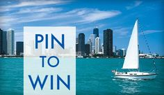 This week were giving away 5 family four-packs for tickets to the 2nd Annual Chicago In-Water Boat Show, happening June 13-16. Perfect for a Father's Day outing! To enter, REPIN and COMMENT on this pin! We'll announce the winners right here at 4 PM today. Good luck!