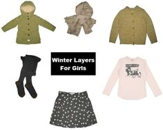 Winter Layers For Girls! #bellerose