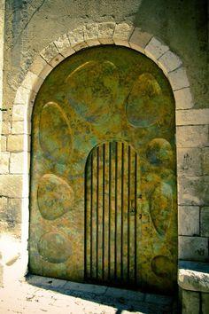 An antique gate, Israel.