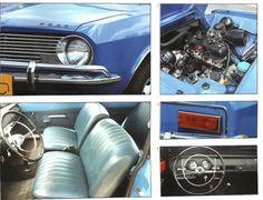 detalhes do primeiro Ford Corcel