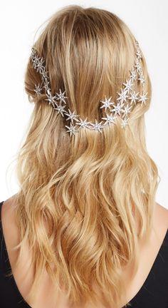 Starburst hair jewelry