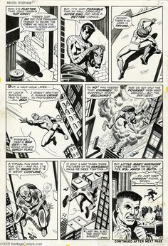 Amazing Spider-Man #82 pg 3 by John Romita Sr. and Jim Mooney