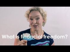 Financial Freedom Friday with Kate Northrup: What is Financial Freedom? New Video Series! http://www.katenorthrup.com/what-is-financial-freedom-new-video-series/