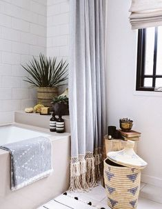 My Mid-Century Bohemian Bathroom Inspiration 2019 My mid-century bohemian bath inspiration blends my homes roots with my love for global and bohemian influences. The post My Mid-Century Bohemian Bathroom Inspiration 2019 appeared first on Shower Diy. Extra Long Shower Curtain, Long Shower Curtains, Bathroom Shower Curtains, Shower Curtain Lengths, Bathroom Showers, Shower Doors, Bad Inspiration, Bathroom Inspiration, Bathroom Ideas