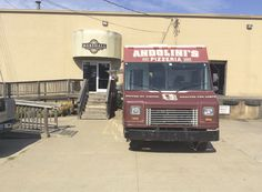 Serving up some lunch at local Marshall Brewing Company. Always a good time.