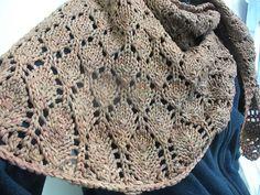 Ravelry: Hojas Shawl by Britt Schmiesing free pattern
