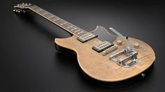 The only guitar in the RevStar series with a Bigsby vibrato system is the RS720B