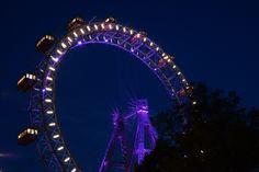 Riesenrad, Prater Vienna, Austria Ferris Wheel, Fair Grounds, Beautiful
