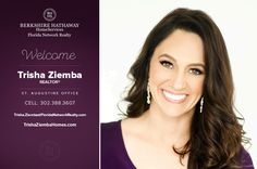 BERKSHIRE HATHAWAY HOMESERVICES FLORIDA NETWORK REALTY WELCOMES TRISHA ZIEMBA