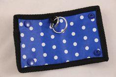 Innenansicht Hundemarkentasche  Hier mit einem blauen Beispiel! www.farnis.de