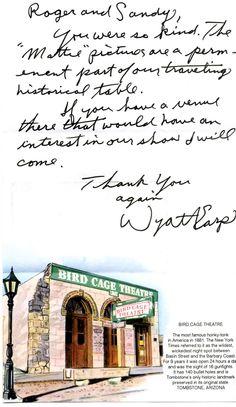 Wyatt Earp Funeral | of wyatt earp show i gave a couple of photos of mattie earps grave ...