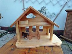 """Unikat Bauernhof Stall Krippe """"Steffi"""" von Treety auf DaWanda.com"""