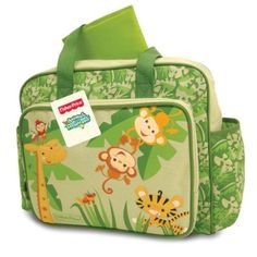 New-Fisher-Price-Animals-of-the-Rainforest-Print-Diaper-Bag