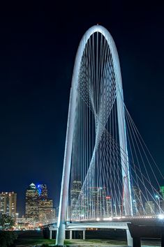 Margaret Hunt Hill Bridge, Dallas - Newest Dallas Lamdmark