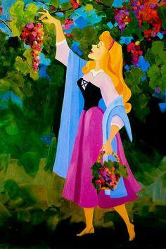 Aurora e as uvas