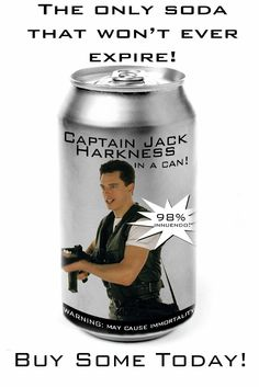 Captain Jack Harkness In A Can by ~indirox on deviantART