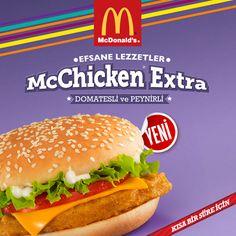 Tavuk lezzetine doyamayan McDonald's tutkunları için McChicken Extra #MaltepePark'ta!