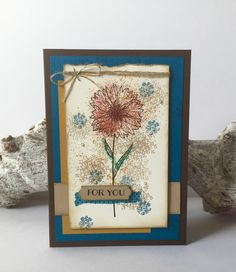 Caring for Stamps: Stampin 'Up! ~ Touches or Texture