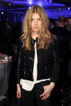 Clémence Poésy in Louis Vuitton at the annual Sidaction Gala