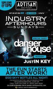 Industry Afterhours SundaysSunday Industry Afterhours    Danger House