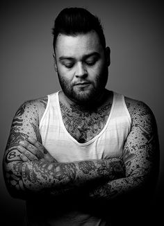 Great portrait of Wade from Alexisonfire