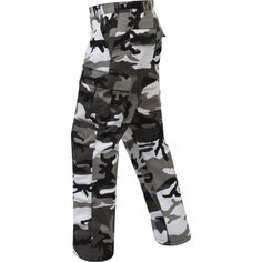 This Military Camouflage BDU Pants is made with comfortable, durable poly/cotton twill with reinforced seats & knees. Features of this BDU fatigue pant incl