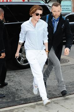 """New to Know: Kristen Stewart's Go-To Label Atea Oceanie """"When I started the collection, the idea was,What would Carolyn Bessette be wearing today?"""