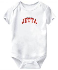 Baby Bodysuit Property Of Jetta
