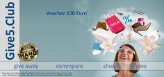 La inscriere primesti un voucher de 100€; Pentru fiecare referal direct primesti 20€. Linkul de inscriere:  http://www.give5.club/?VoucherCode=113737. Dupa inscriere, primiti email cu datele de logare.