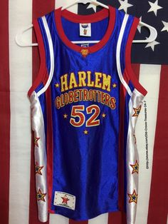 "Harlem Globetrotters 52 ""Big Easy"" Basketball Jersey Small | eBay"