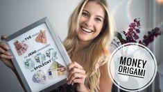 Jak k narozeninám originálně darovat peníze? | Jitka Nováčková Wedding Gifts, Wedding Day, Inspirational Gifts, Origami, Diy And Crafts, Wedding Decorations, Presents, Youtube, Cards