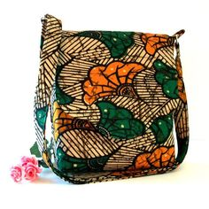 African print bag | ❤ bag and purses ▲ Via Afrikraaft  www.pinterest.com/afrikraaft/ #bag