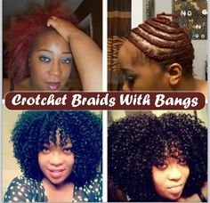 Crochet Braids Base : Crochet braids! on Pinterest Crochet braids, Kanekalon braiding ...