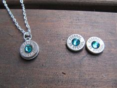 38 Special Bullet Jewelry Set with Earrings and by JillsJewels4You #PANDORAvalentinescontest
