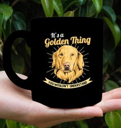 It Is Golden Retriever Thing Golden Retriever Gifts, Retriever Dog, Christmas Decor, Best Gifts, Mugs, Diy, Animals, Design, Animales