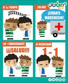 ¡Dos goles y Marchesín al hospital!   Lo que nos dejó el Club Santos vs. Club Pachuca Tuzos #somosJUGOtv #Liguilla2016