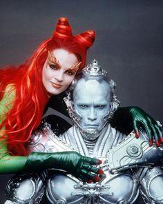 Uma Thurman as Dr. Pamela Isley, Poison Ivy & Mr. Freeze - Batman and Robin 1997 -