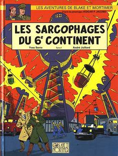 Blake et Mortimer (Éditions Blake et Mortimer) -16- Les Sarcophages du 6e continent - Tome 1  -  2003