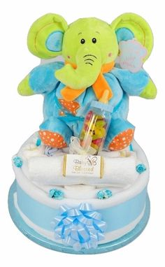 £26.99 Stampy Sweets Nappy Cake http://www.baby-blessed.co.uk/nappy-cakes.html