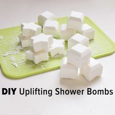 Destress with these uplifting shower bombs made with essential oils